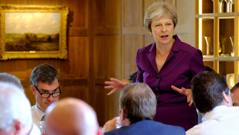 El Reino Unido aboga por crear una zona de libre comercio con la UE después del 'Brexit'
