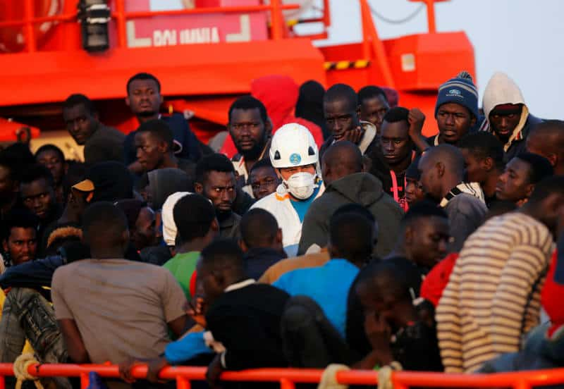 Salvamento Marítimo rescató a cerca de 400 personas en Gibraltar y Alborán