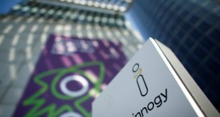 Beneficio de Innogy cayó 10 por ciento en primer semestre de 2018 por vientos débiles y materia prima costosa