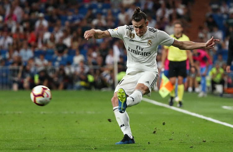 Soccer Football - La Liga Santander - Real Madrid vs Getafe - Santiago Bernabeu, Madrid, Spain - August 19, 2018   Real Madrid's Gareth Bale in action   REUTERS/Sergio Perez
