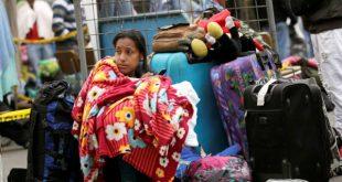 Decenas de venezolanos intentan ingresar a Ecuador sin pasaportes en regla