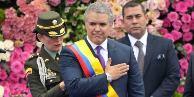 Presidente Iván Duque Márquez afirma que recibe una Colombia convulsionada