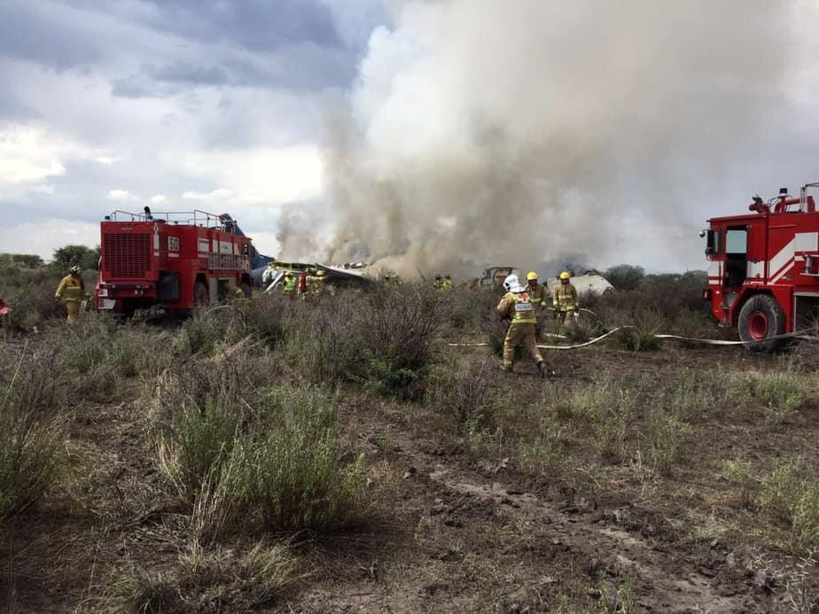 Bomberos apagaron el fuego
