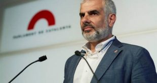 Ciudadanos denuncia al presidente del Parlament Roger Torrent en fiscalía