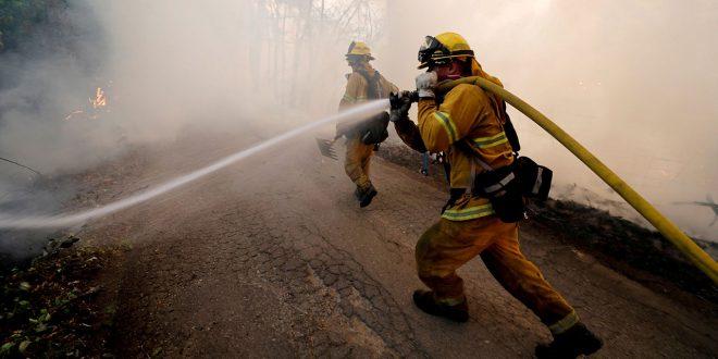 Incendio forestal de Mendocino