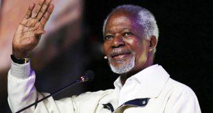 Kofi Annan, Nobel de la Paz, fallece a los 80 años