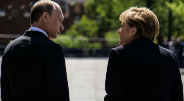 Merkel y Putin concretaron su segundo encuentro en tres meses, en el marco de un estrechamiento de relaciones entre Alemania y Rusia