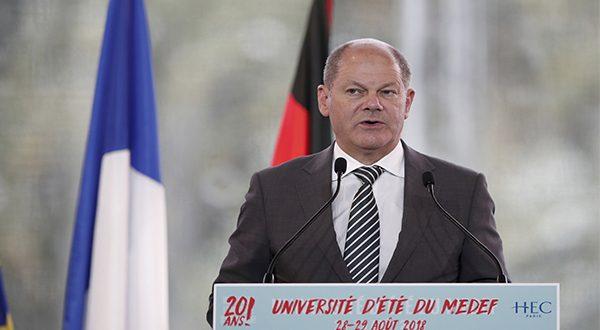 """El ministro de Finanzas de Alemania, Olaf Scholz, se mostró en contra de seguir una estrategia de """"Europa Primero"""" (Reuters)"""