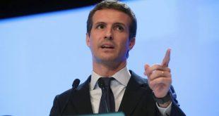 El presidente el Partido Popular, Pablo Casado, rechazó declaraciones del presidente de la Generalitat de Cataluña, Quim Torra