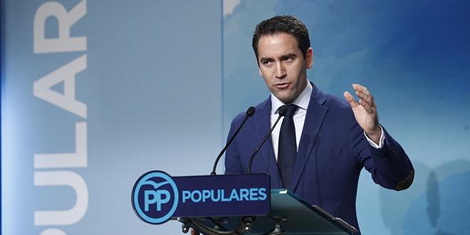 Teodoro García Egea: A Sánchez le queda rectificar la moción de censura