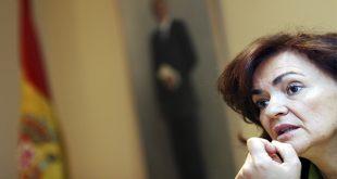 Al frente del Consejo de Ministros estuvo la vicepresidenta del Gobierno español, Carmen Calvo (Archivo/Reuters)