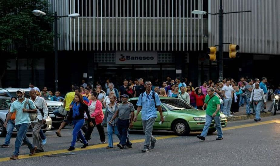 Caracas sin electricidad tras Mega apagón que duro cerca de cinco horas
