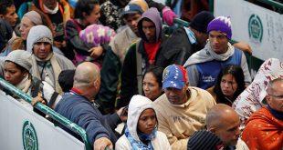 Éxodo venezolano aumenta entre las fronteras Colombia y Ecuador