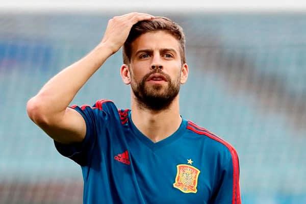 Piqué se despide de la selección española