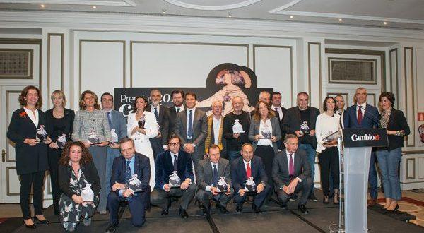 Ceremonia Premios Cambio 16 2017