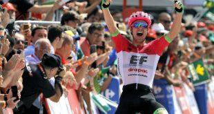 quinta etapa de la Vuelta a España