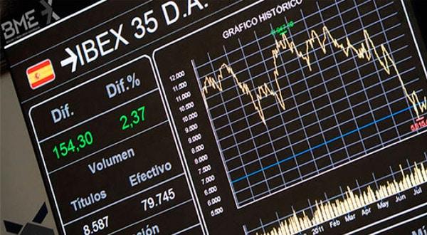 La jornada en la bolsa española mostró una tendencia a la baja por parte del Ibex 35, que afectó las acciones de sector bancario tras una caída abrupta de la lira turca