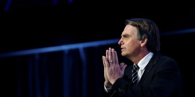 Foto de archivo de Jair Bolsonaro / REUTERS