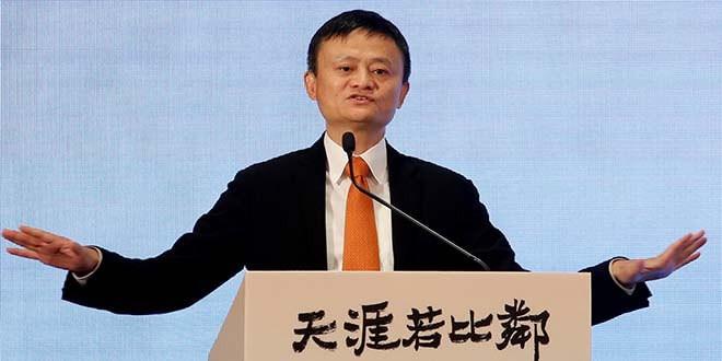 En la imagen de archivo, el cofundador de Alibaba Group y el presidente ejecutivo hablan en una rueda de prensa en Hong Kong, China, 25 de junio de 2018. REUTERS/Bobby Yip