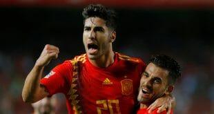 España goleó a Croacia