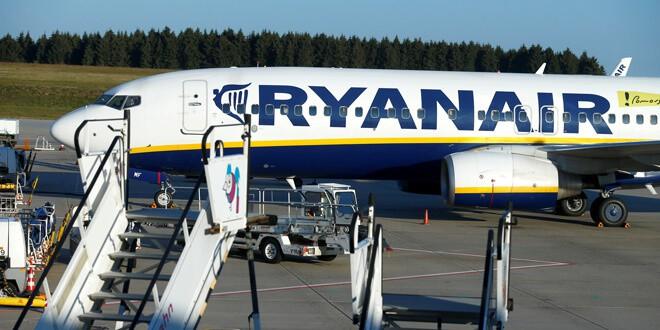 tripulantes de cabina de Ryanair