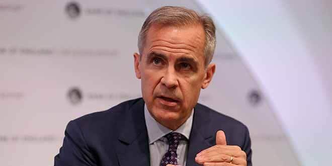 En la foto de archivo, el gobernador del Banco de Inglaterra, Mark Carney, durante una rueda de prensa en Londres, Reino Unido, 2 de agosto de 2018. Daniel Leal-Olivas/Pool via Reuters