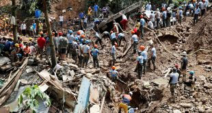 supervivientes al tifón Mangkhut