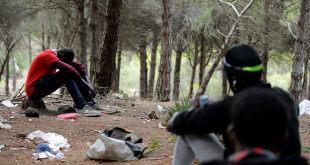 Marruecos persigue a los emigrantes africanos que se dirigen a Europa