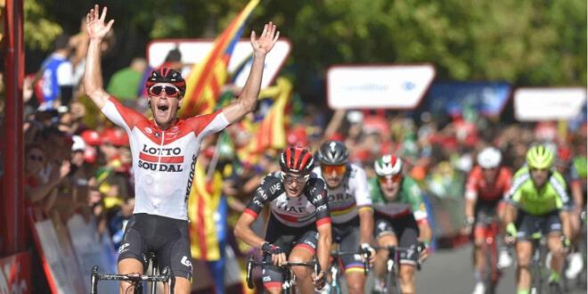 decimoctava etapa de la Vuelta a España