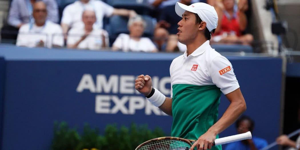 Kei Nishikori alcanza las semifinales del US Open