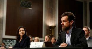 Representantes de Facebook y Twitter testificaron ante el Senado de EEUU/Reuters