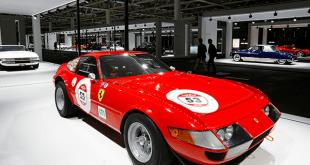El Ferrari 365 GTB 4 Daytona será presentado en el Grand Basel en Basilea, Suiza / Reuters