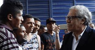 Luis Almagro visita Colombia para debatir la crisis migratoria venezolana