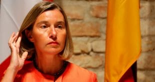 """La representante de la UE para la Política Exterior, Federica Mogherini, dijo que la crisis política y humanitaria en Venezuela se encuentra entre las """"urgencias"""" que deberá abordar la diplomacia comunitaria/Reuters"""