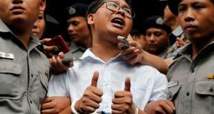 ONU rechazó la condena a siete años de cárcel contra dos periodistas/Reuters