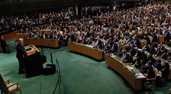 """Donald Trump pidió ayuda internacional para """"restaurar la democracia en Venezuela""""/Reuters"""