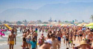 Imagen de la playa valenciana de Cullera