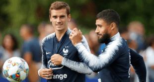 selección francesa se entrena