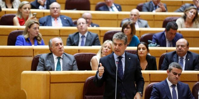 cosidó defendió las competencias del senado