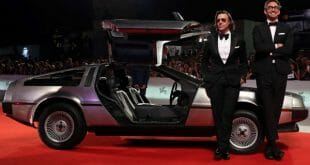 "DeLorean cerró el Festiva l de Venecia el sábado al presentar ""Driven"" donde el automóvil regresa a la pantalla grande"