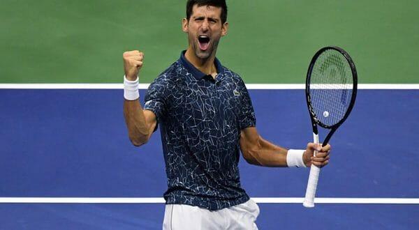 Djokovic a la final del US Open tras tras vencer al japonés Kei Nishikori en tres sets