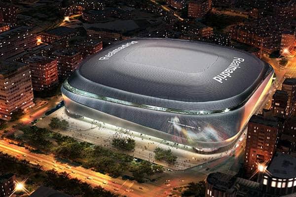 El nuevo y espectacular estadio Santiago Bernabéu se ha puesto en marcha