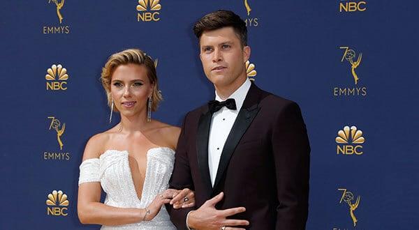 Scarlett Johansson en la alfombra roja de los Premios Emmy 2018