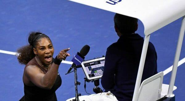 Serena Williams recibió una multa por la discusión que mantuvo con el árbitro Carlos Ramos durante la final del abierto de Estados Unidos