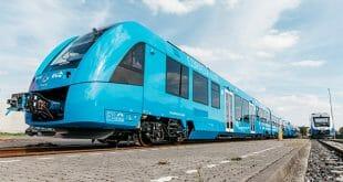 Tren de pilas de hidrógeno comenzó a operar en Alemania