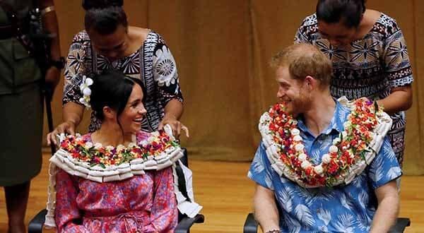 Príncipe Enrique resaltó la amenaza del cambio climático en su visita a la isla Fiyi