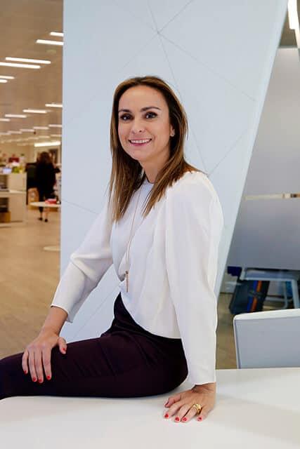 Ainhara Viñarás, directora general de Shiseido.
