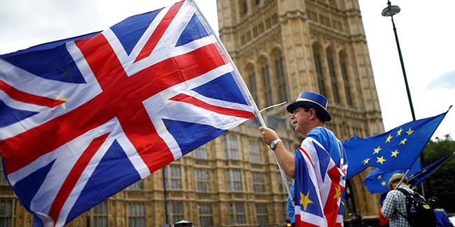 Manifestantes anti-Brexit frente al Parlamento, en Londres, 19 de junio de 2018. REUTERS/Henry Nicholls/Foto archivo