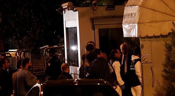 Fuerzas policiales ingresaron a consulado saudí en Estambul