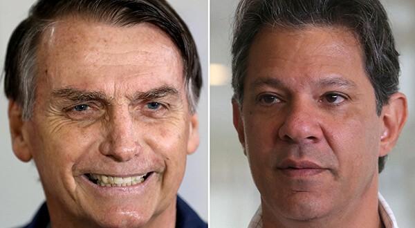 El candidato de la ultraderecha de 63 años se siente ganador de las elecciones presidenciales de Brasil que el domingo disputará ante el izquierdista Fernando Haddad/Reuters